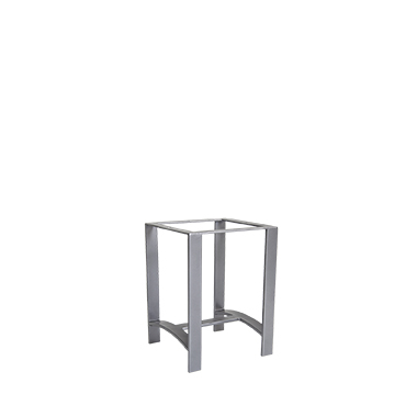 OW Lee Casual Iron Bases Side Table Base