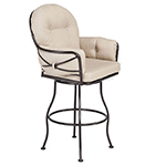 OW Lee Cambria Club Swivel Rocker Bar Stool