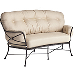 OW Lee Cambria Crescent Love Seat