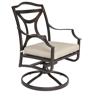 OW Lee Madison Swivel Rocker Dining Arm Chair