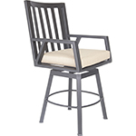 OW Lee Aris Swivel Counter Stool